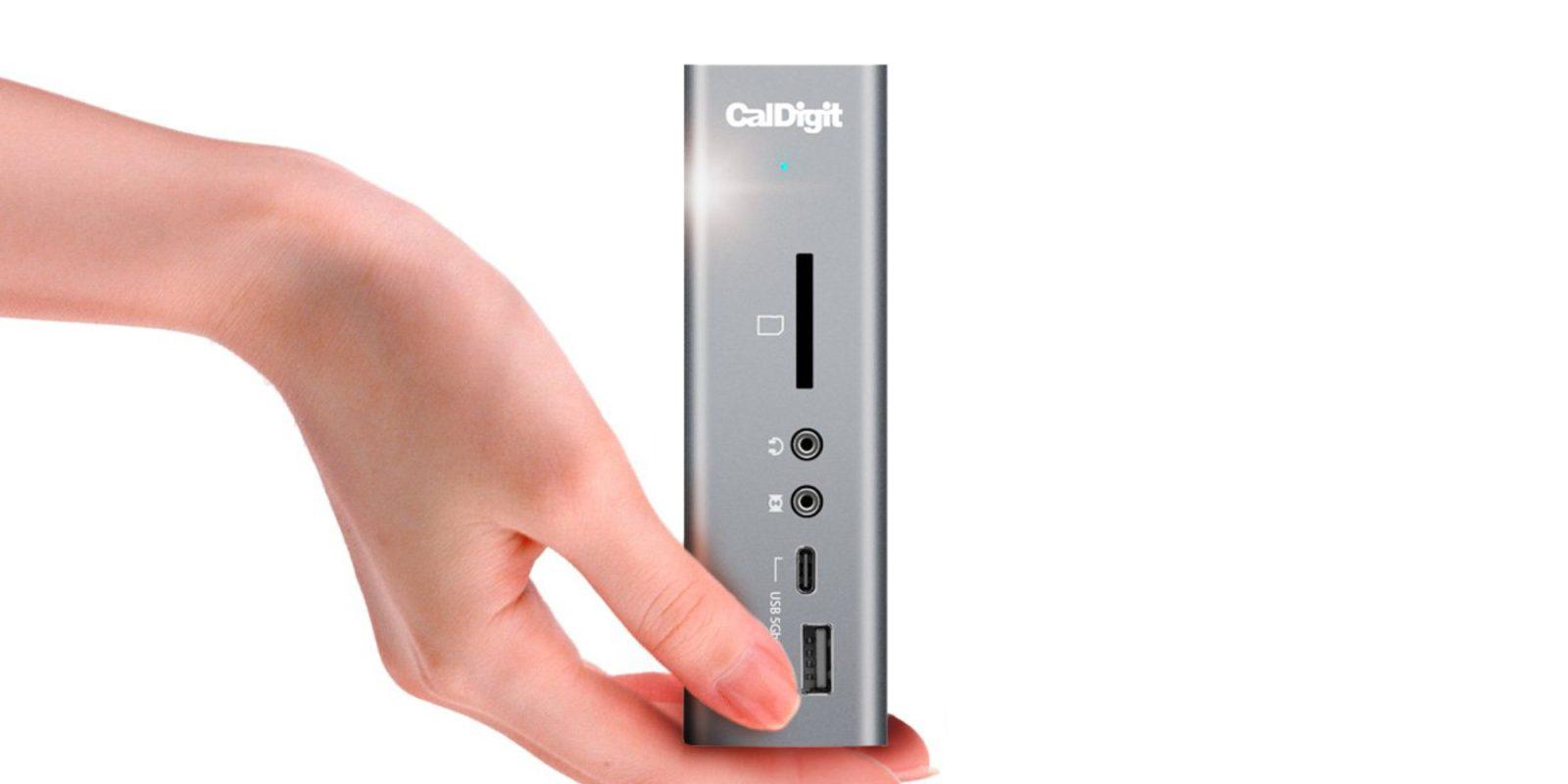 CalDigit's Thunderbolt 3 Dock has 15 ports, dual 4K60 support: $230.50 (New low)
