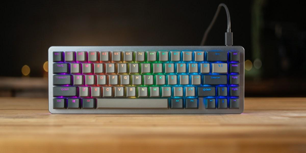Top of the Drop ALT keyboard