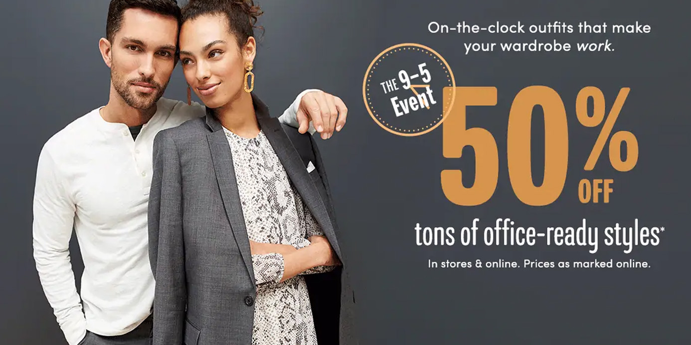 J.Crew Factory 9 to 5 Event offers 50% off workwear with deals from $30 - 9to5Toys