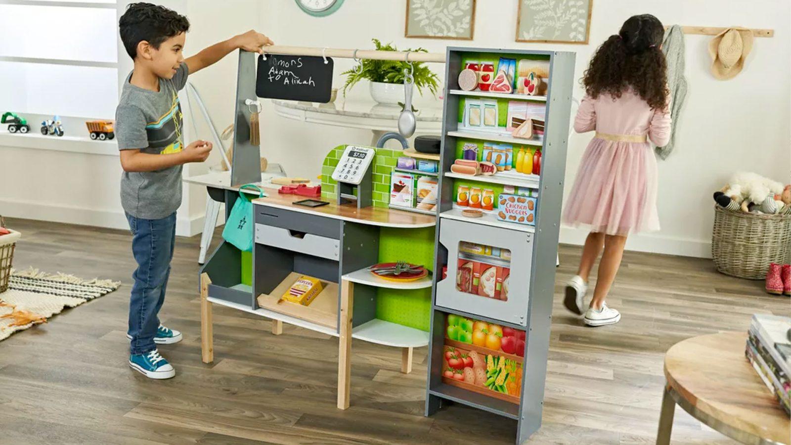 kidkraft and amazon launch an alexa-enabled kids kitchen