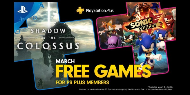 March PlayStation Plus free games