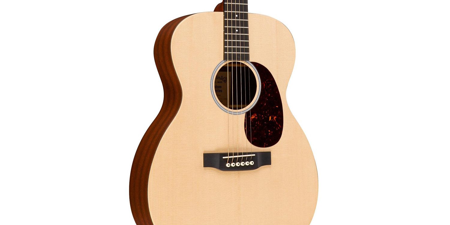 Martin's beginner/travel X1AE Acoustic-Electric Guitar is $240 off today, more - 9to5Toys