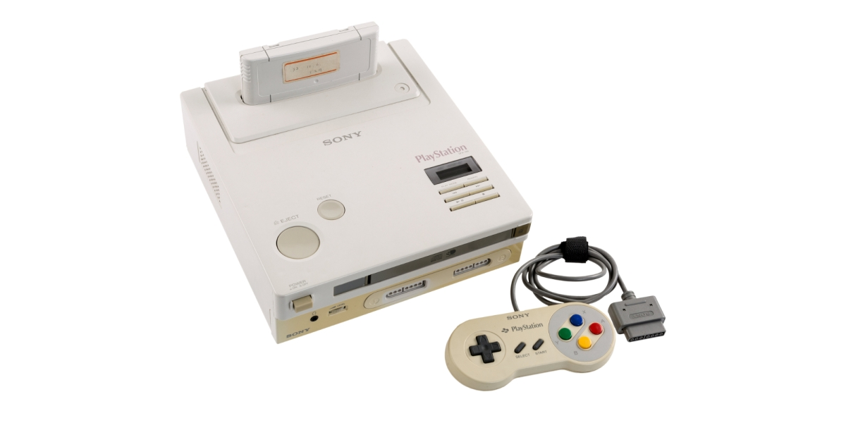 Nintendo PlayStation auction