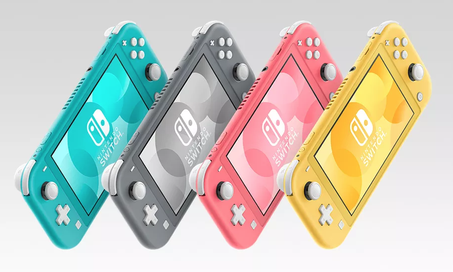 Coral Pink Switch Lite console on the way!