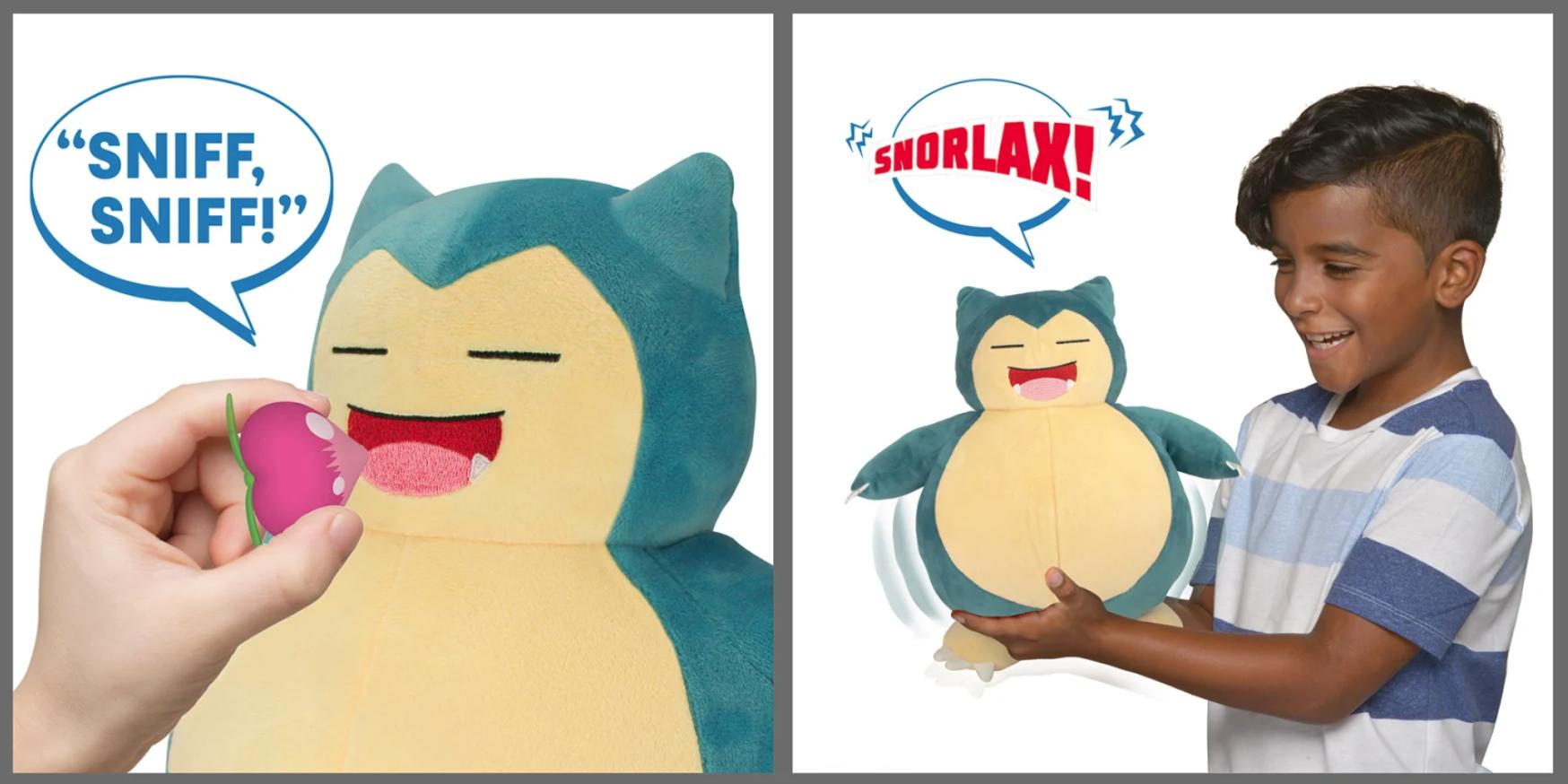 New Pokémon toys - Snooze Action Snorlax