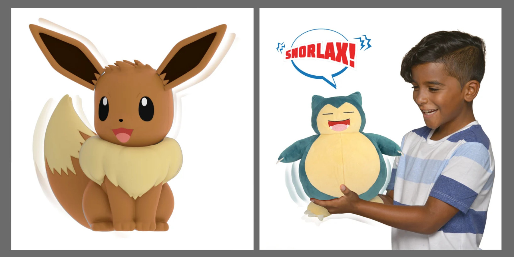 New Pokémon toys inbound: My Partner Eevee and Snorlax - 9to5Toys
