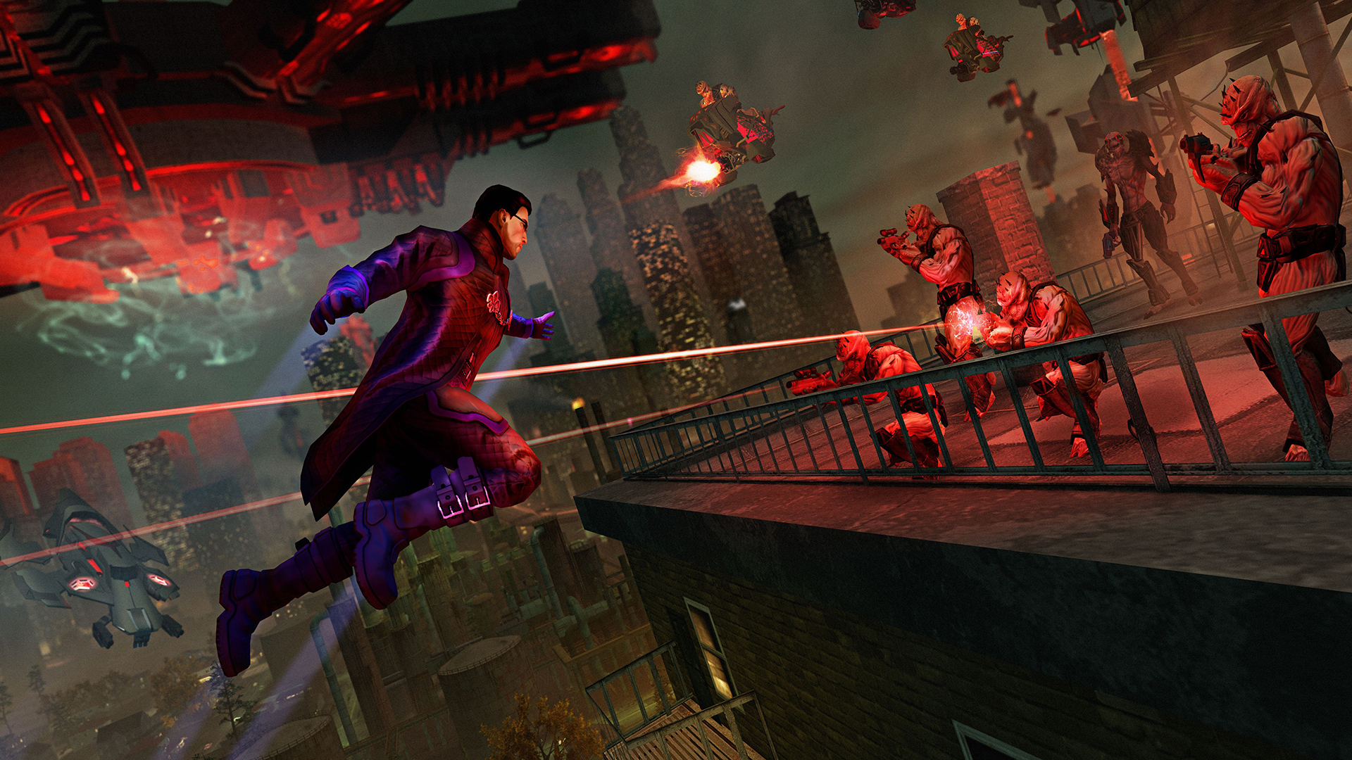 Saints Row IV Re-Elected for Nintendo Switch