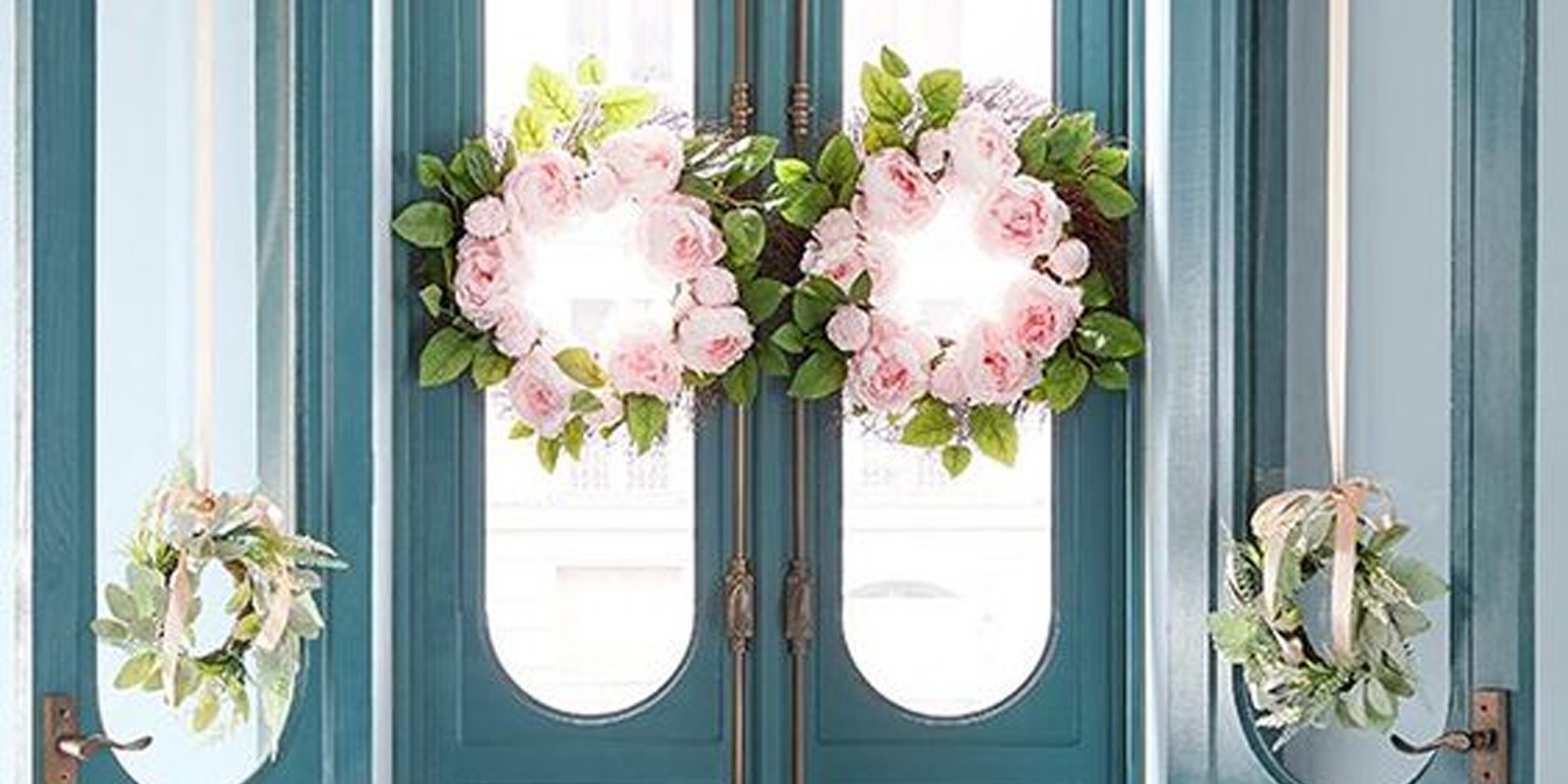 The best spring wreaths to brighten up your front porch under.. - 9to5Toys