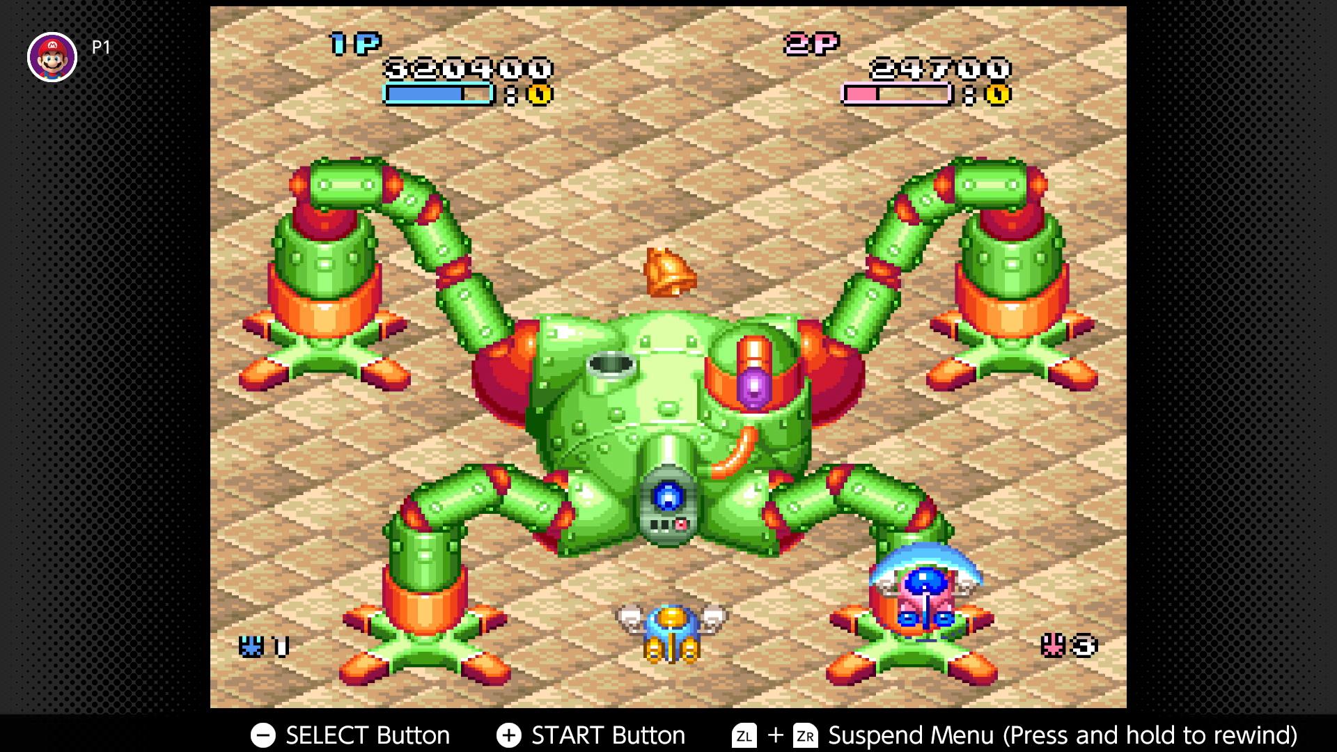 Nintendo Switch Online SNES and NES - Pop'n TwinBee