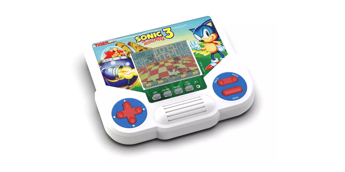 New Tiger LCD handhelds Sonic