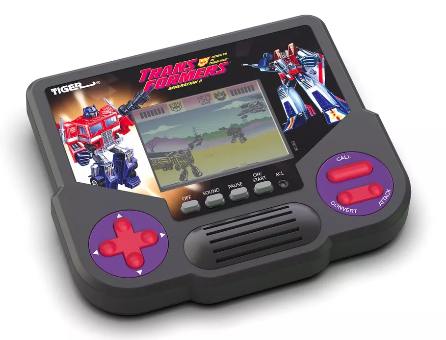 Transformers Tiger LCD handhelds