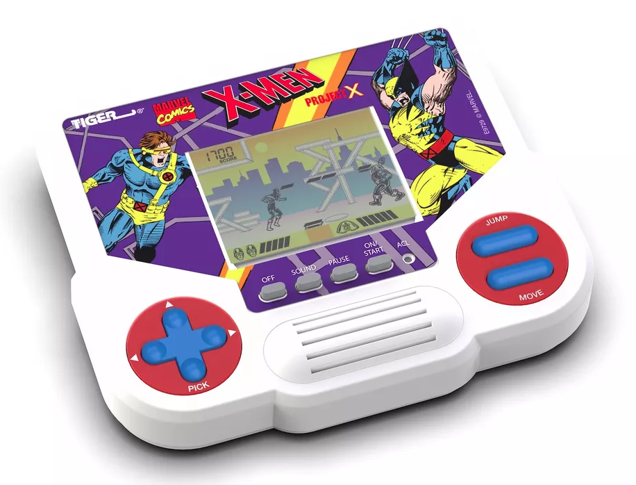 Tiger LCD handhelds featuring X-Men