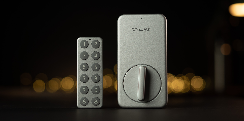 Wyze Lock and Keypad on desk 2