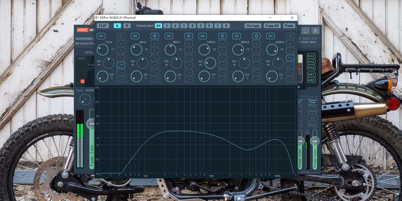 Voicemeeter Banana EQ for Razer Kraken Ultimate