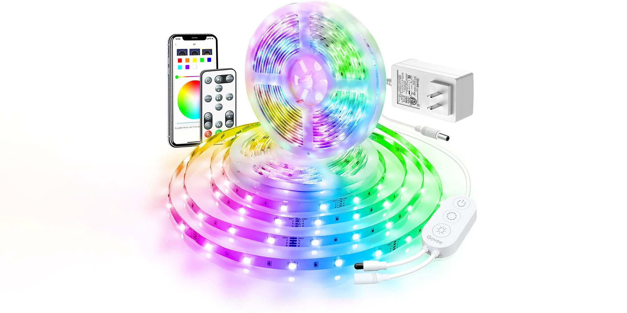 Score a near-33-foot smart RGB LED strip for just $25 with this promo code - 9to5Toys
