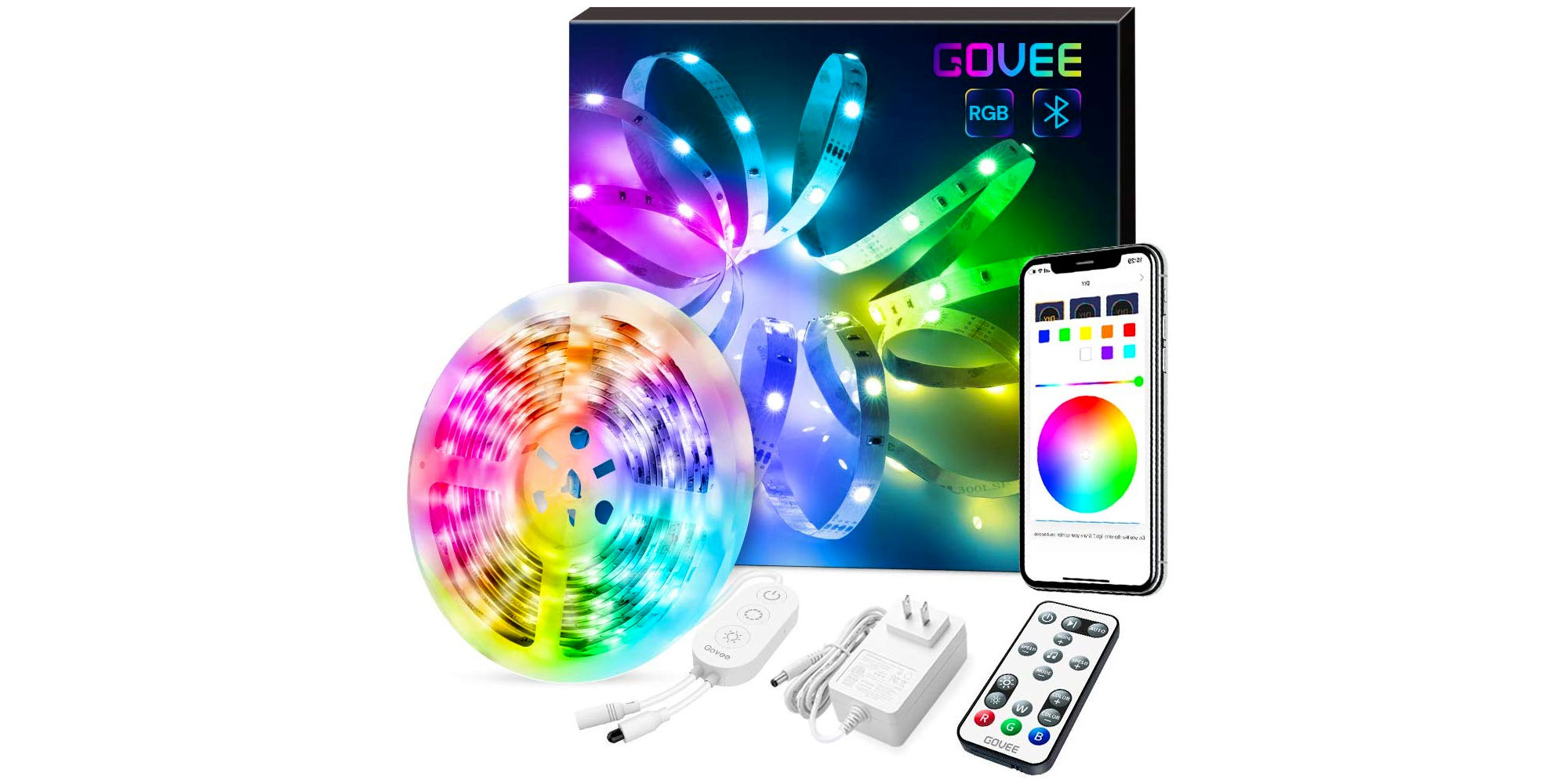This app-enabled RGB LED strip is perfect for any decor at just $16 - 9to5Toys