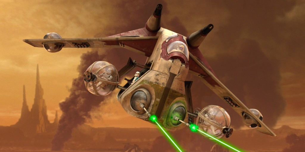 LEGO UCS Republic Gunship