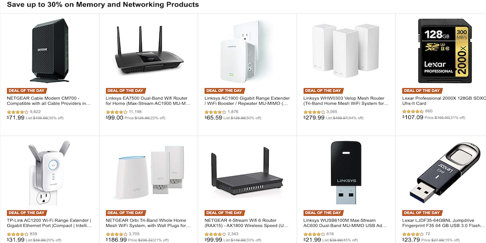 Grab that networking and storage product upgrade in today's Gold Box - 9to5Toys