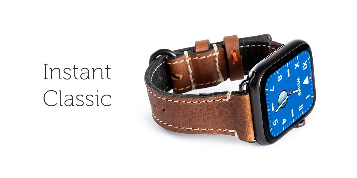 Lowry Leather Apple Watch Band