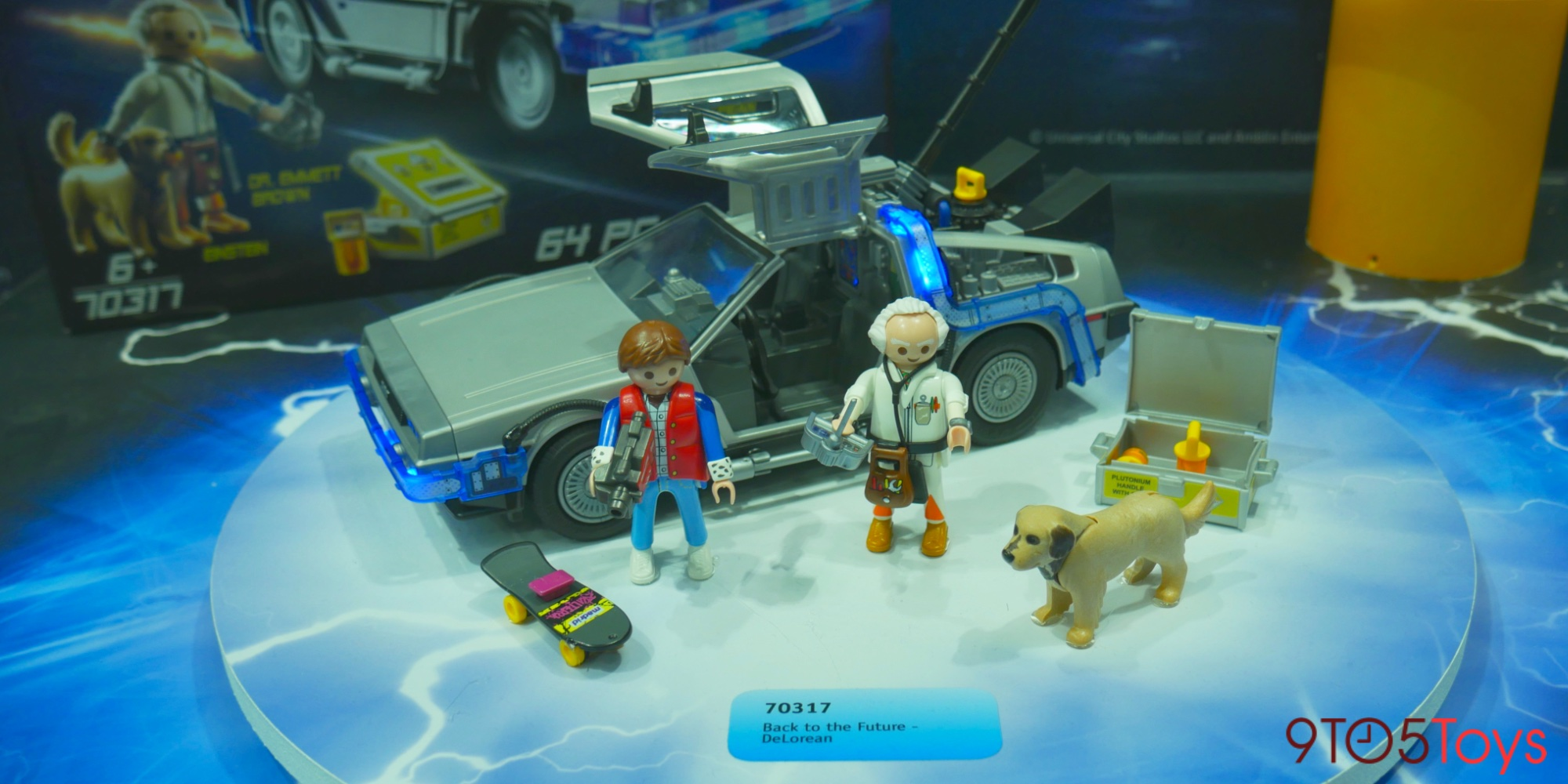 Playmobil Back to the Future DeLorean debuts at Toy Fair - 9to5Toys