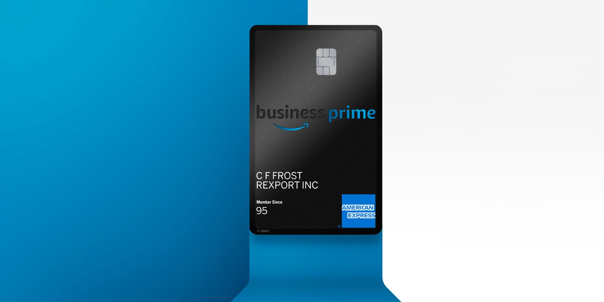 amazon business credit card
