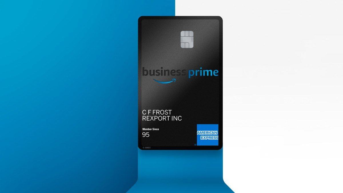 amazon business credit card