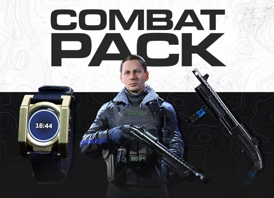Call of Duty Warzone Combat Pack no FREE