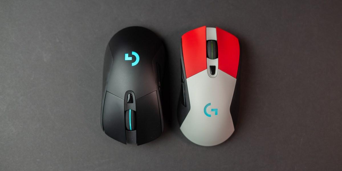 Logitech G703 and Colorware custom G703