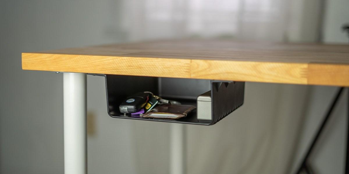 ElevationShelf mounted under desk