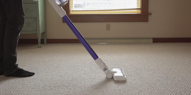 Eufy HomeVac S11 on carpet