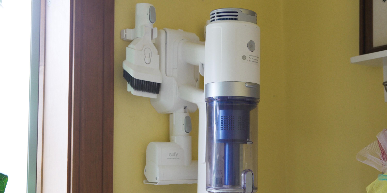 Eufy S11 mounted on wall