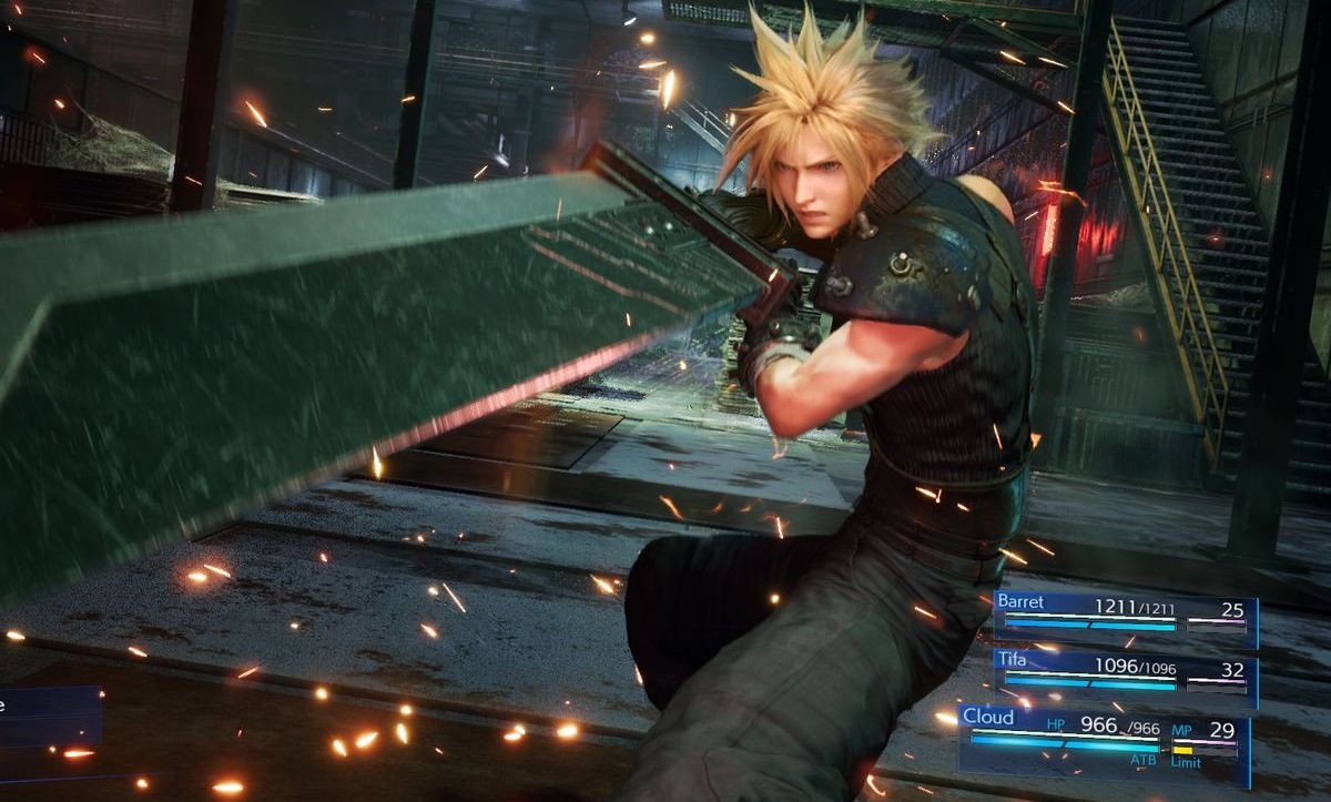 Final Fantasy VII demo remake out now