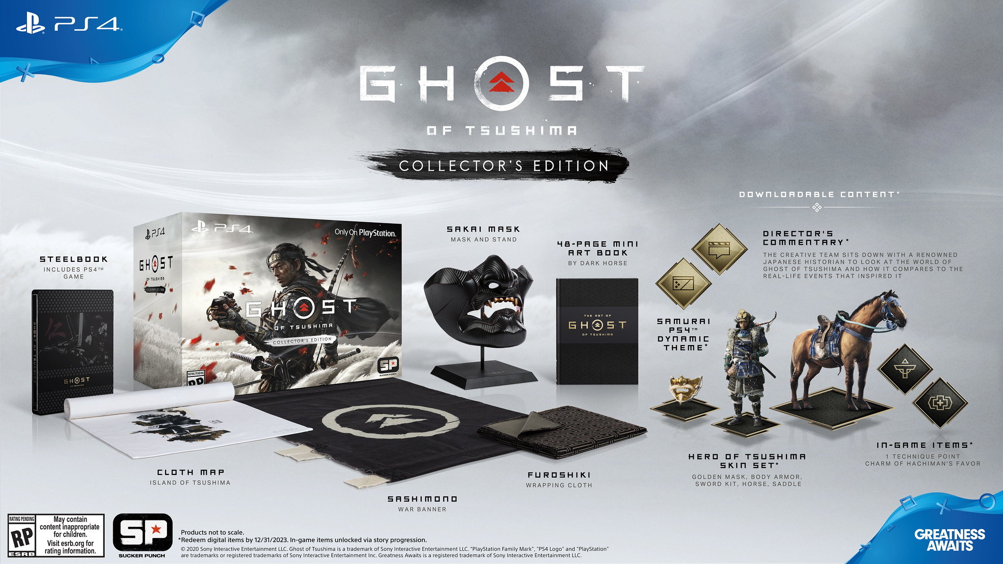 Ghost of Tsushima release date and Collector's Edition