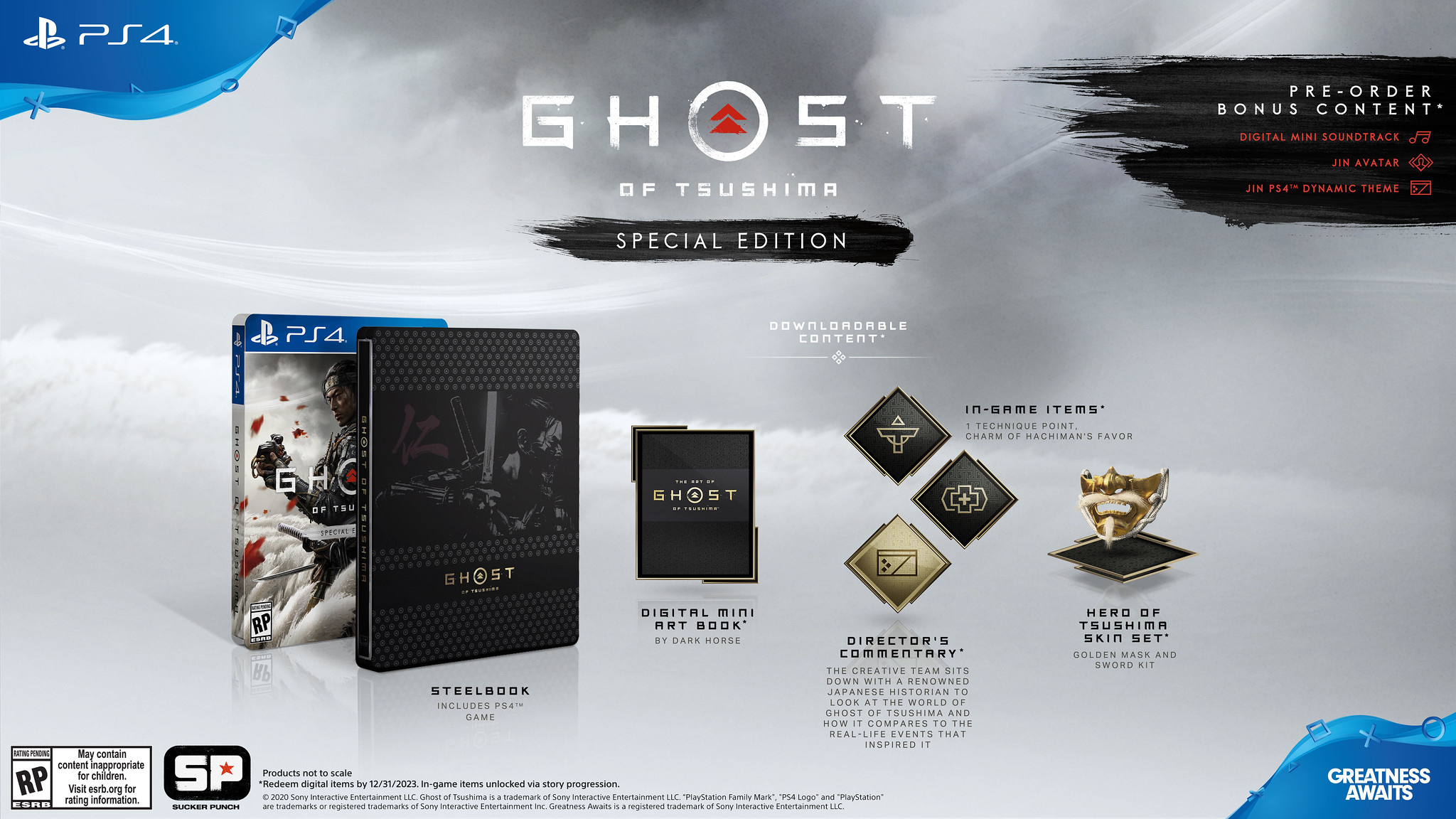 Ghost of Tsushima release date and Special Edition