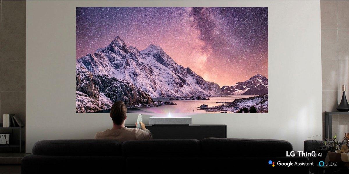 lg alexa projector