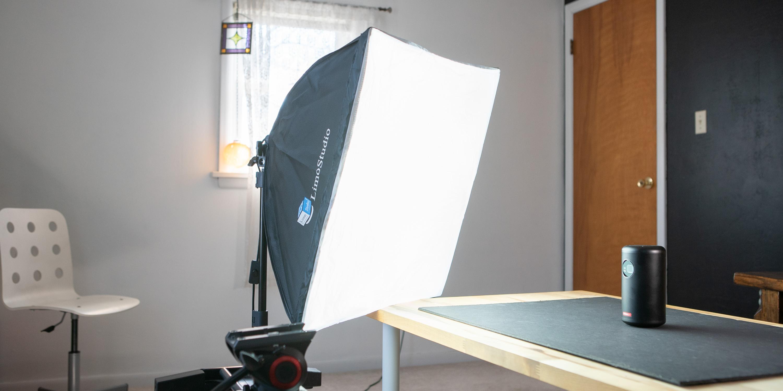 Limostudio softbox with 85w CLF keylight