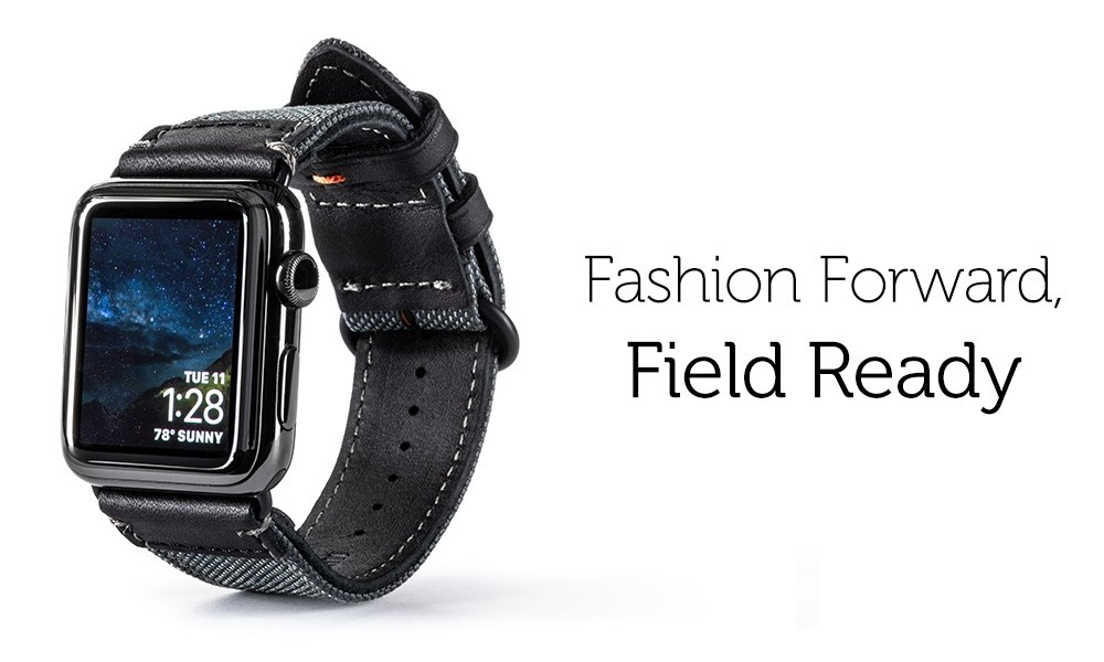 Premium Apple Watch bands from Pad & Quill