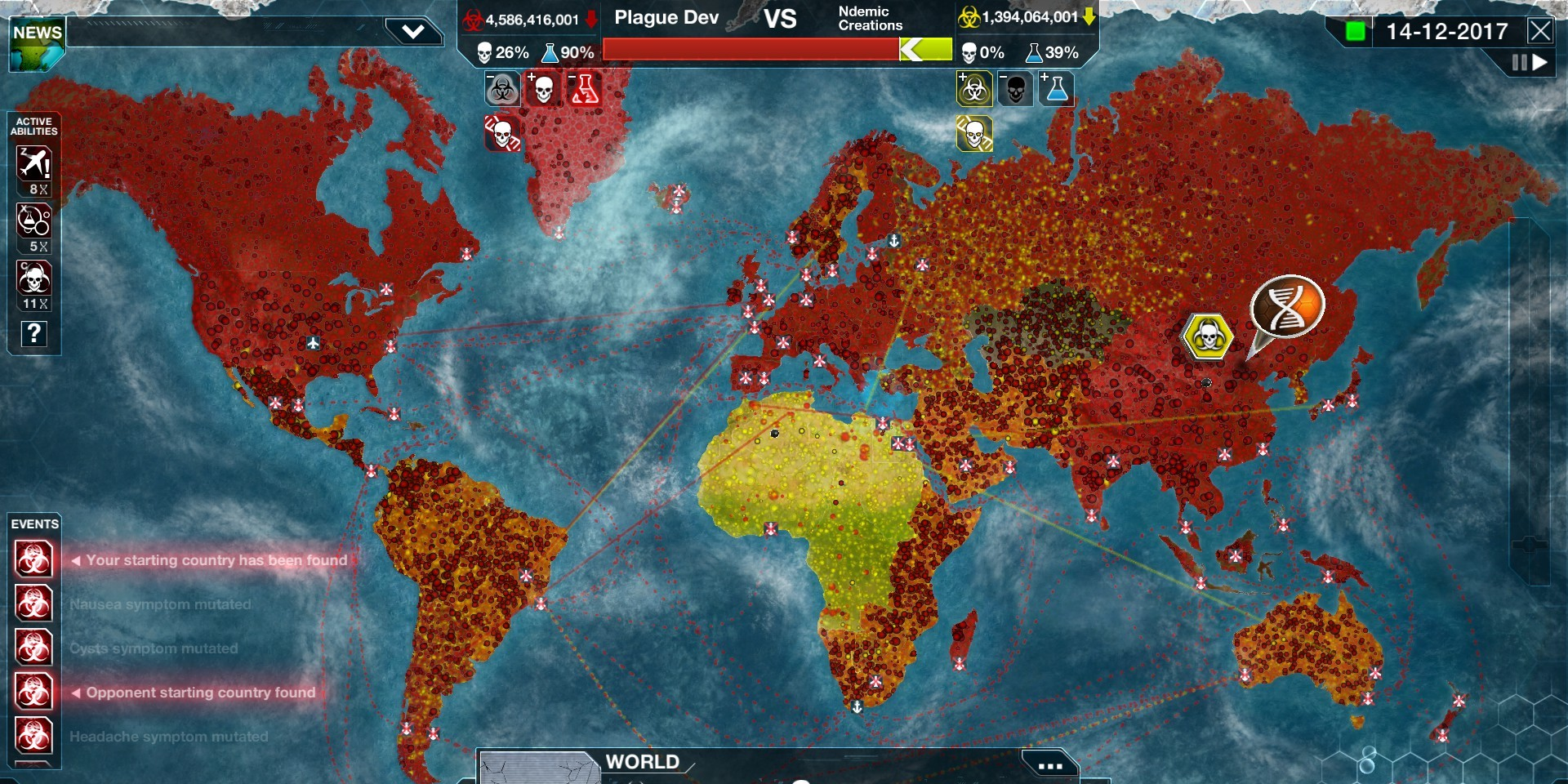 Ndemic Creations Plague Inc