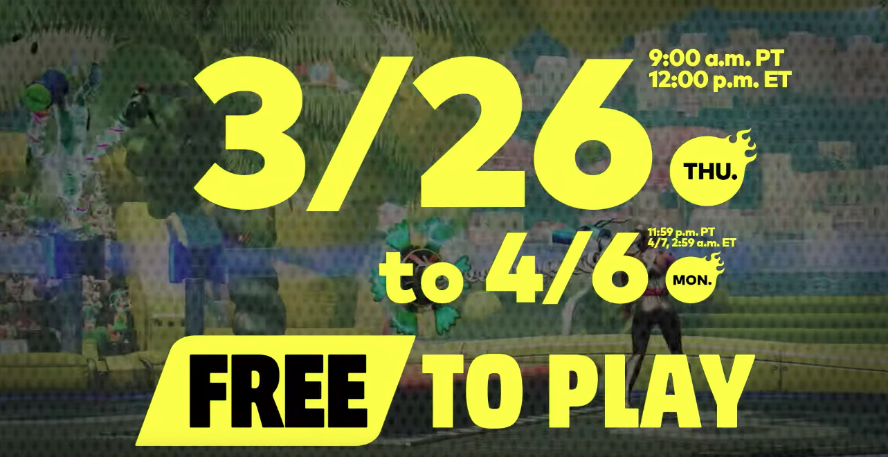 Play ARMS for FREE on Nintendo Switch