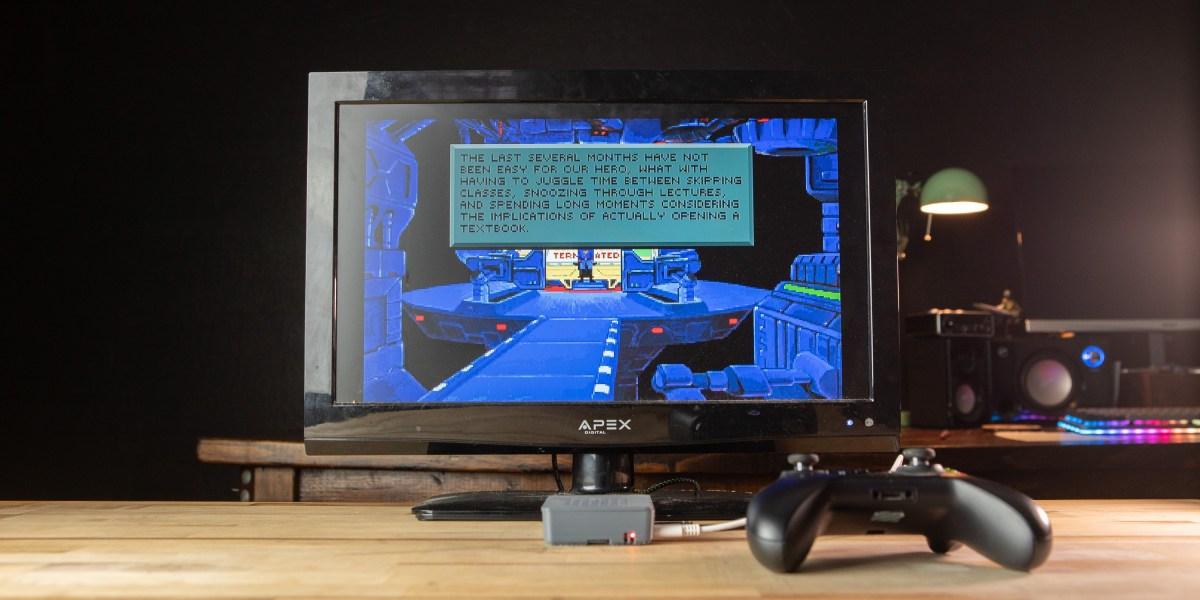Playing retro games on Raspberry Pi 4