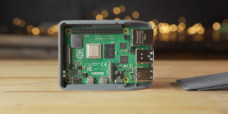 Raspberry Pi 4 in 3D printed case