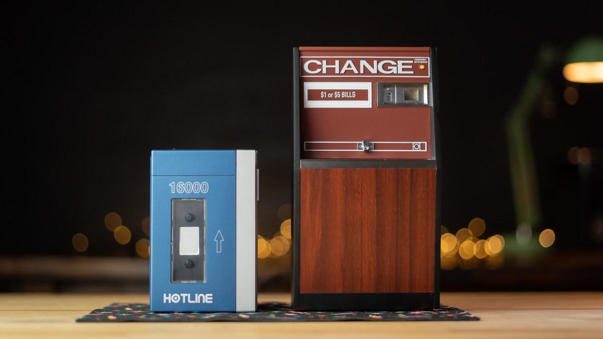 Replitronics Hotline 16000 and USB Charge Machine