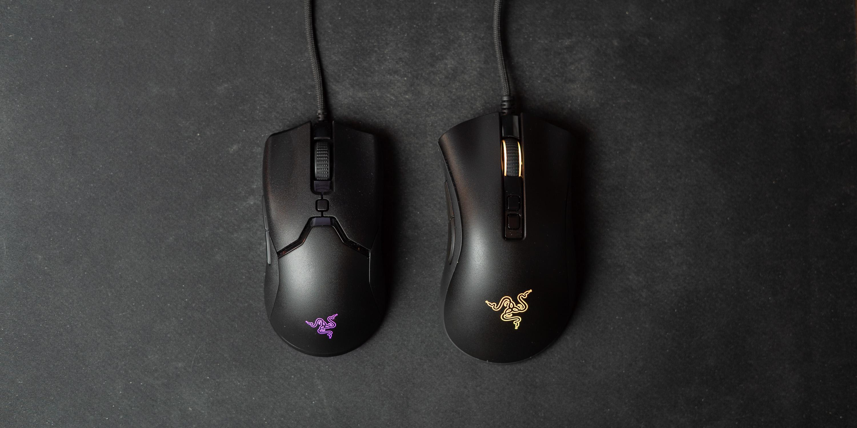 Viper Mini next to a Deathadder V2