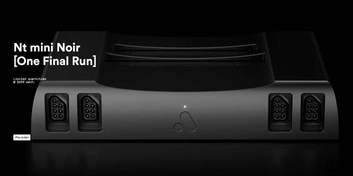 Metal NES console Analogue Nt mini [v2]