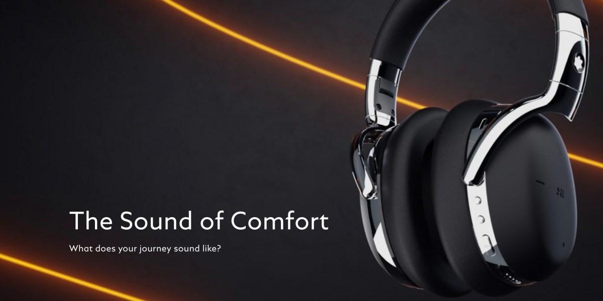 Montblanc wireless headphones