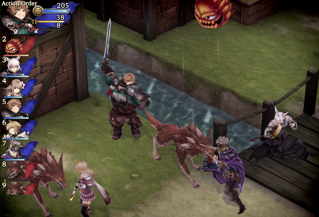 New Final Fantasy tactics game known as War of the Visions