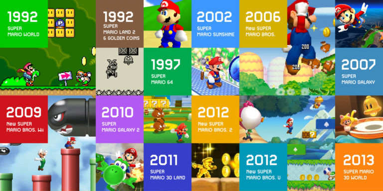 New Mario games and remakes