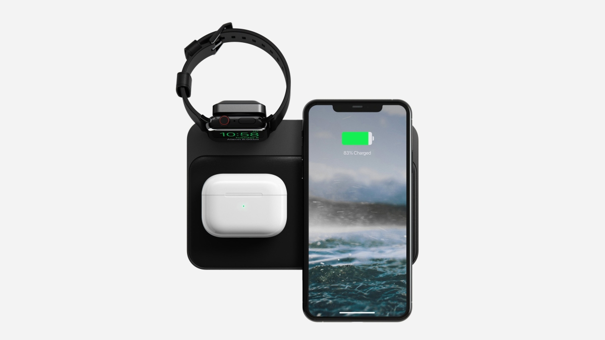 nomad base station for apple watch