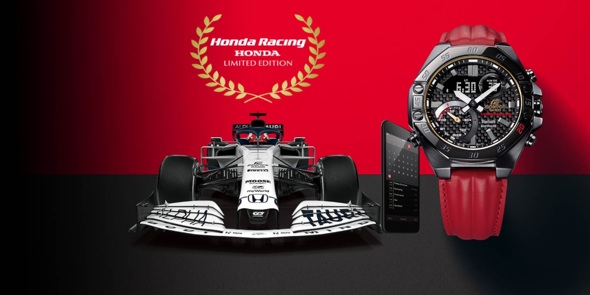 Casio Honda Racing Watch