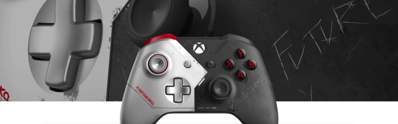 Cyberpunk 2077 Xbox One X controller